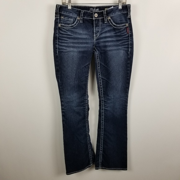 4f750704 Silver Jeans Jeans | Silver Aiko Boot Cut Womens Dark Wash 30x33 ...